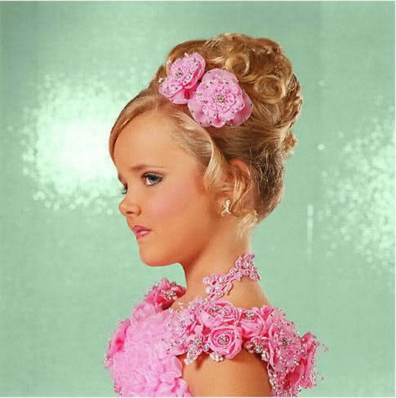 The Best Pageant Hairstyles For Little Girls Pictures