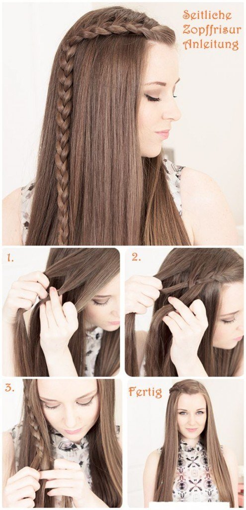 The Best 15 Wonderful Hairstyle Tutorials For Long Hair Pictures