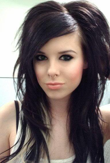 The Best Emo Girls Hairstyles Hairstyles Pictures