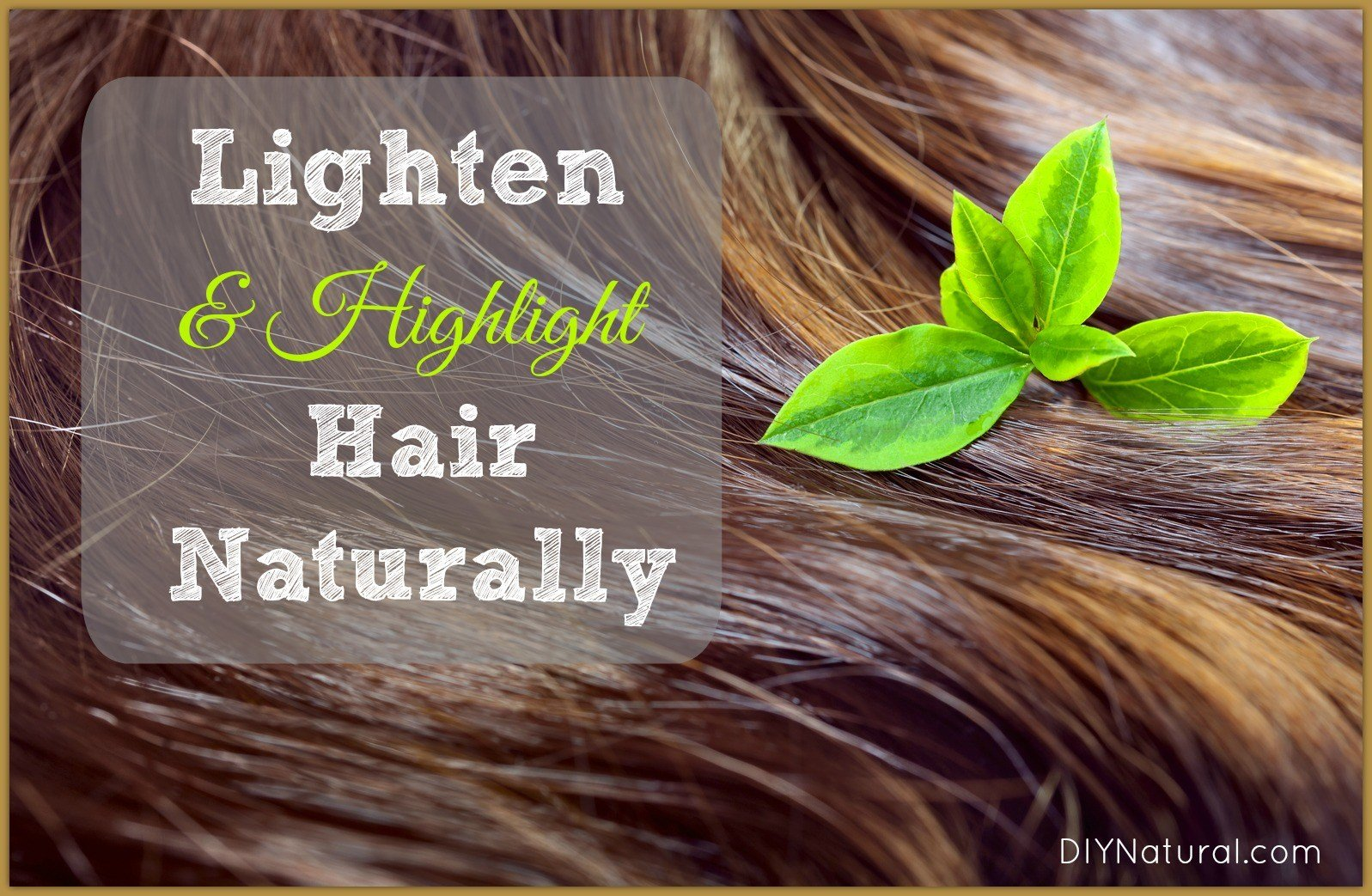 The Best How To Lighten Hair Naturally And Add Highlights Naturally Pictures