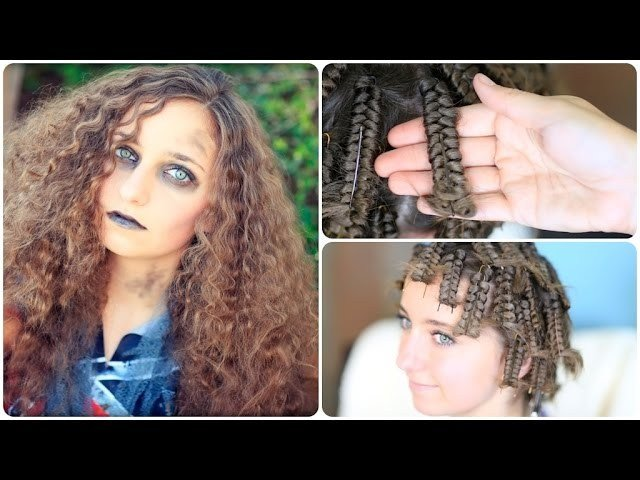 The Best Zombie Cheerleader Hair Pin Curls Halloween Hairstyles Pictures