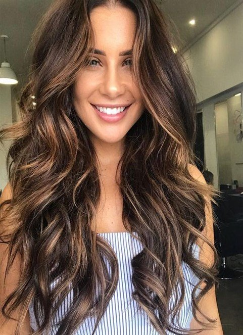 The Best Sultry Caramel Hairstyles Ideas For Spring 2018 Brunette Locks Fashionsfield Pictures