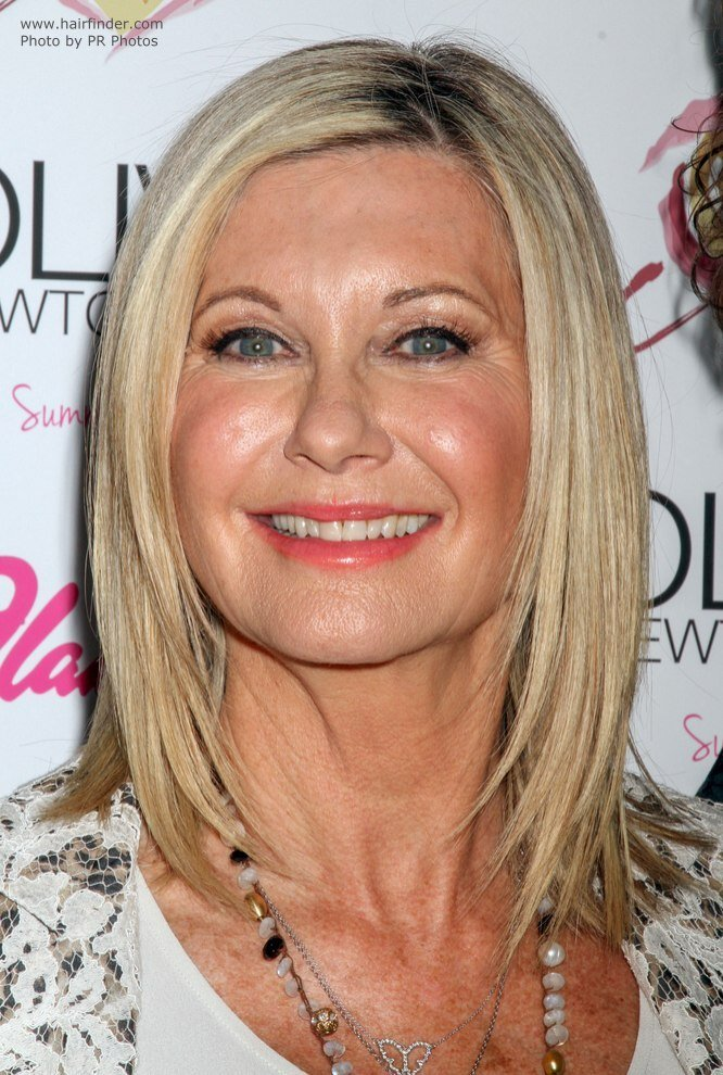 The Best Olivia Newton John Over Age 65 And Wearing Her Hair Smooth Pictures