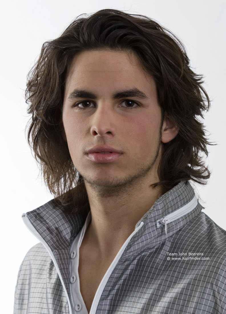 The Best Long Men S Hairstyle With Layers And Razor Texturing Pictures