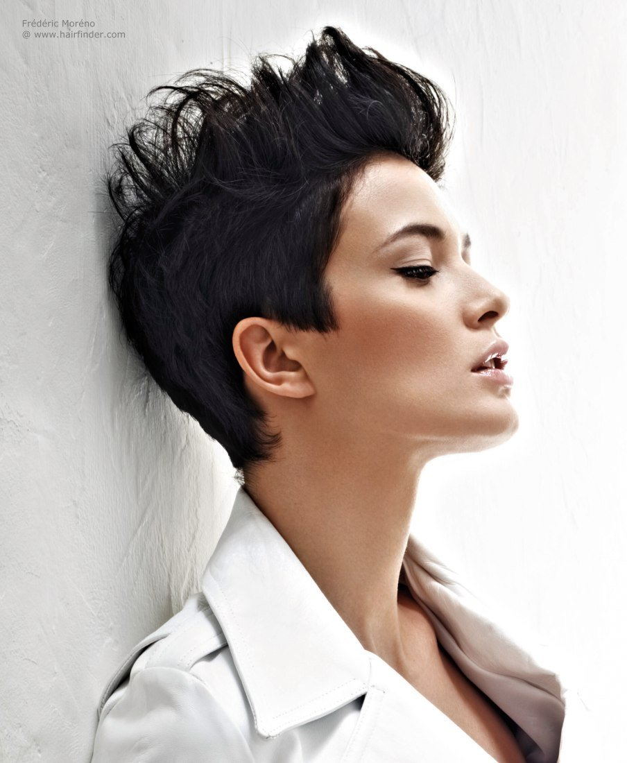 The Best Short Hair Styled Up With Gel Or Modeling Paste Pictures