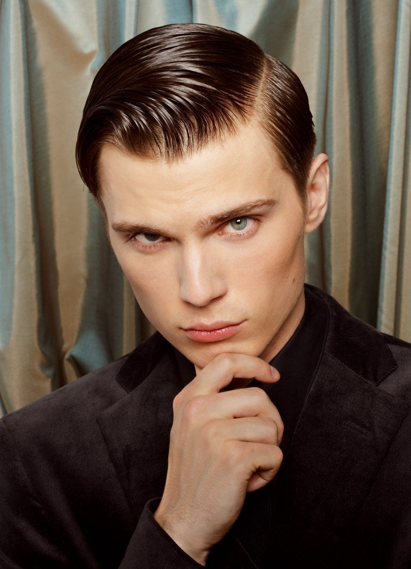The Best Retro Hairstyle With Gel For Men Pictures