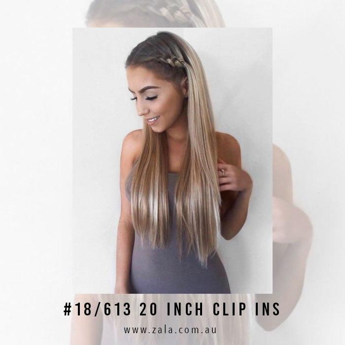 The Best 20 Inch Hair Extensions The Most Popular Length At Zala Pictures
