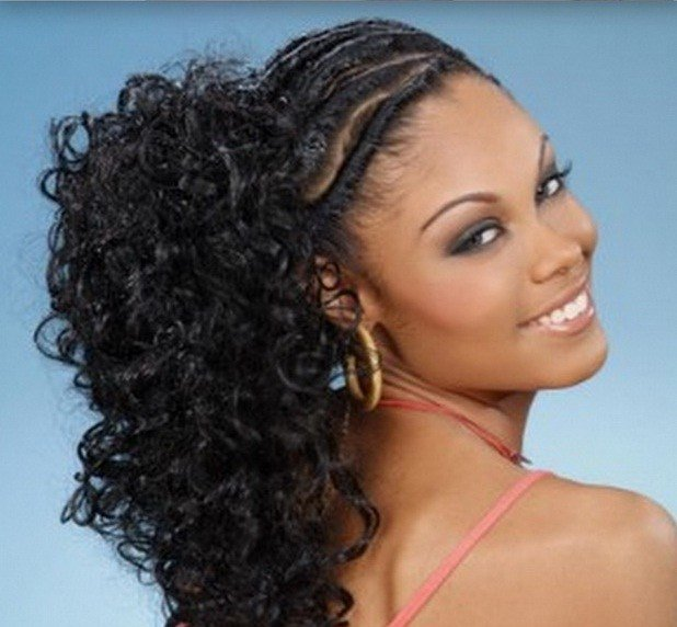 The Best 12 Best Ponytail Hairstyles For Black Women With Black Hair Pictures