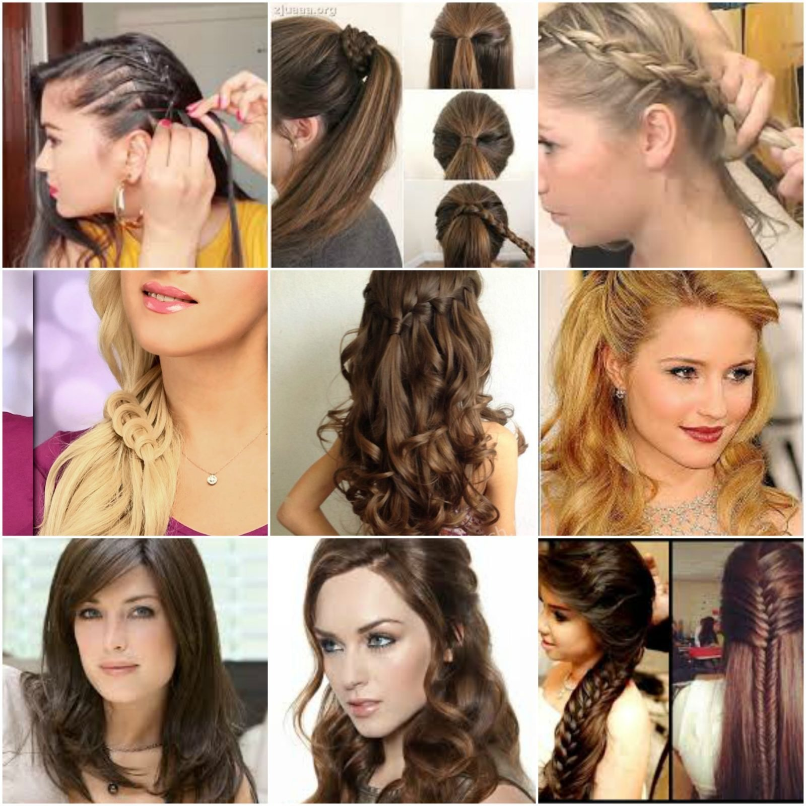 The Best 100 Easy Hairstyles For Medium Hair For Party In 2019 Pictures