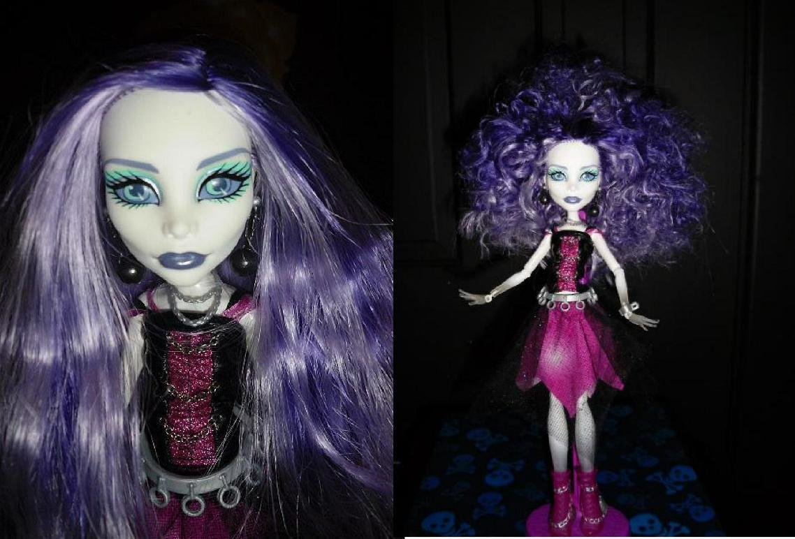 The Best Spectra S New Wild Hairstyle Monster High Dolls Com Pictures
