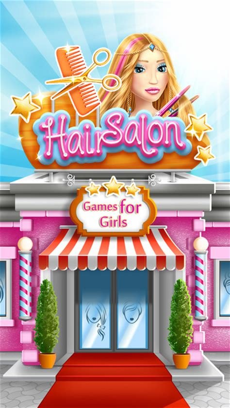 The Best Hair Salon Games For Girls Virtual Hairstyle S Studio And Pictures