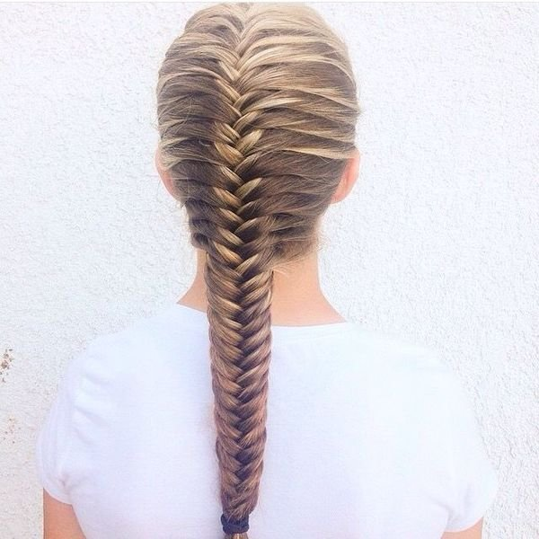 The Best Fishtail French Braid Hairtyles For Women Pictures
