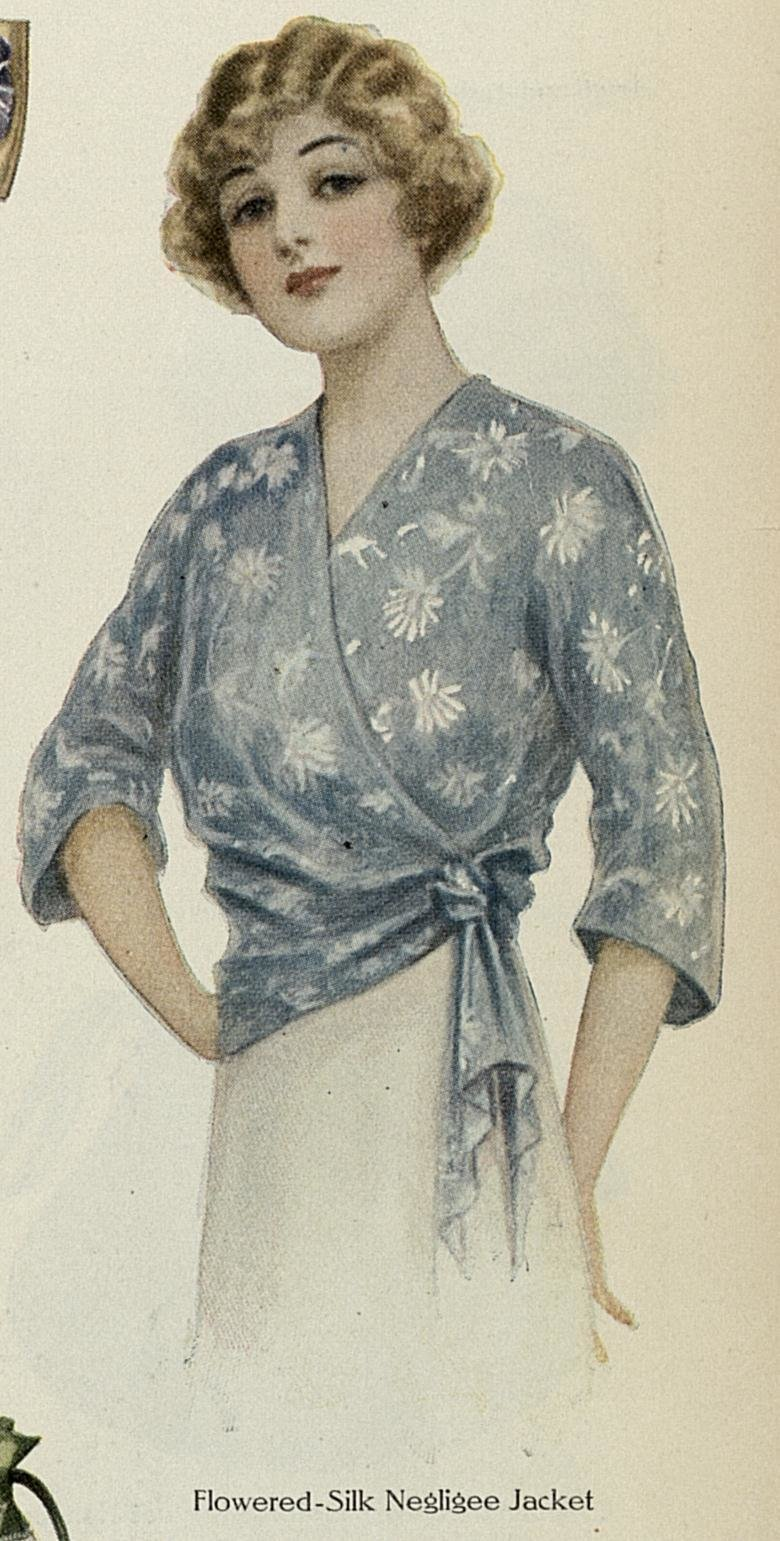 The Best Bed Jackets A Hundred Years Ago Pictures