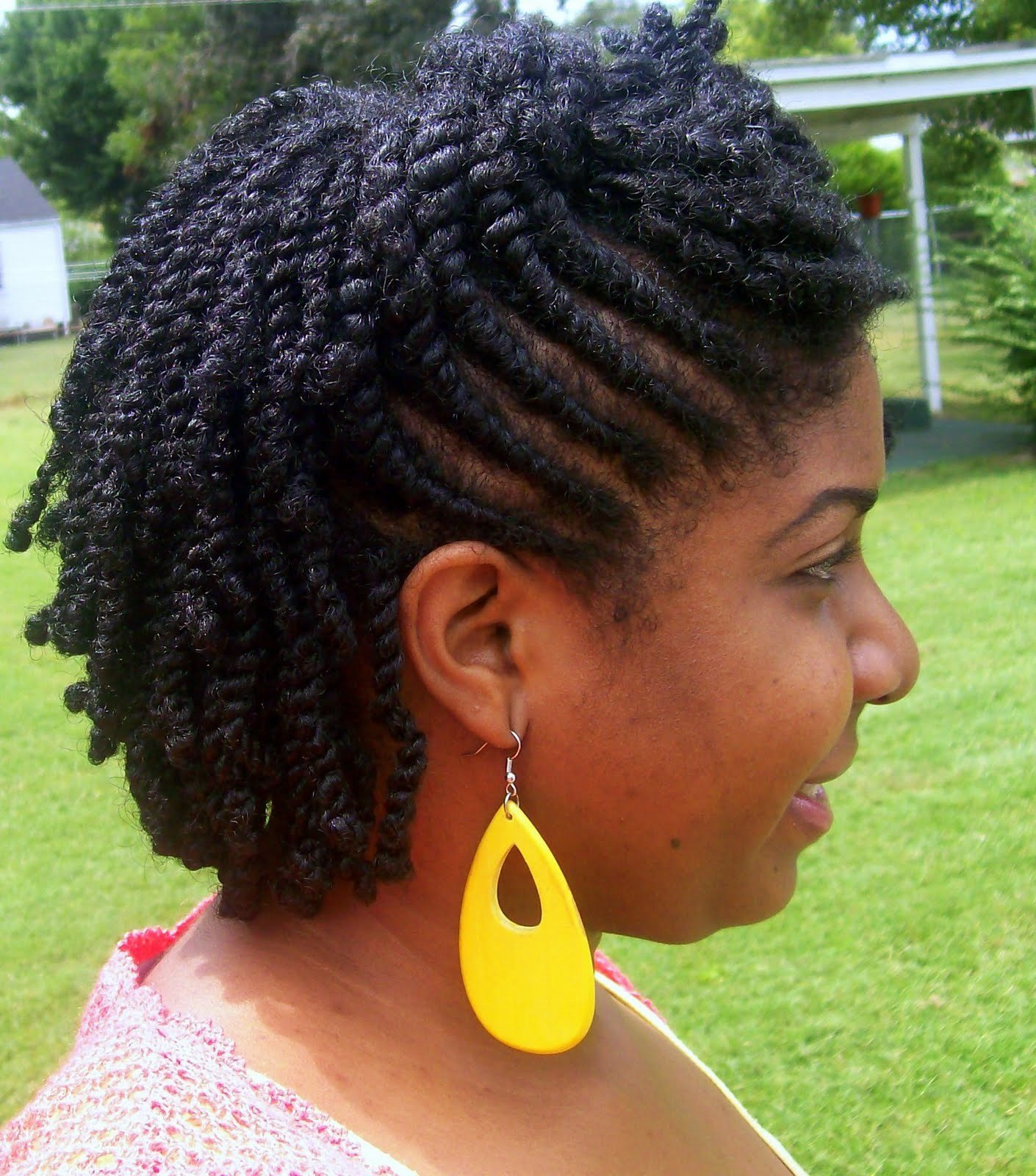 The Best Flat Twist Styles For Short Natural Hair Bakuland Pictures