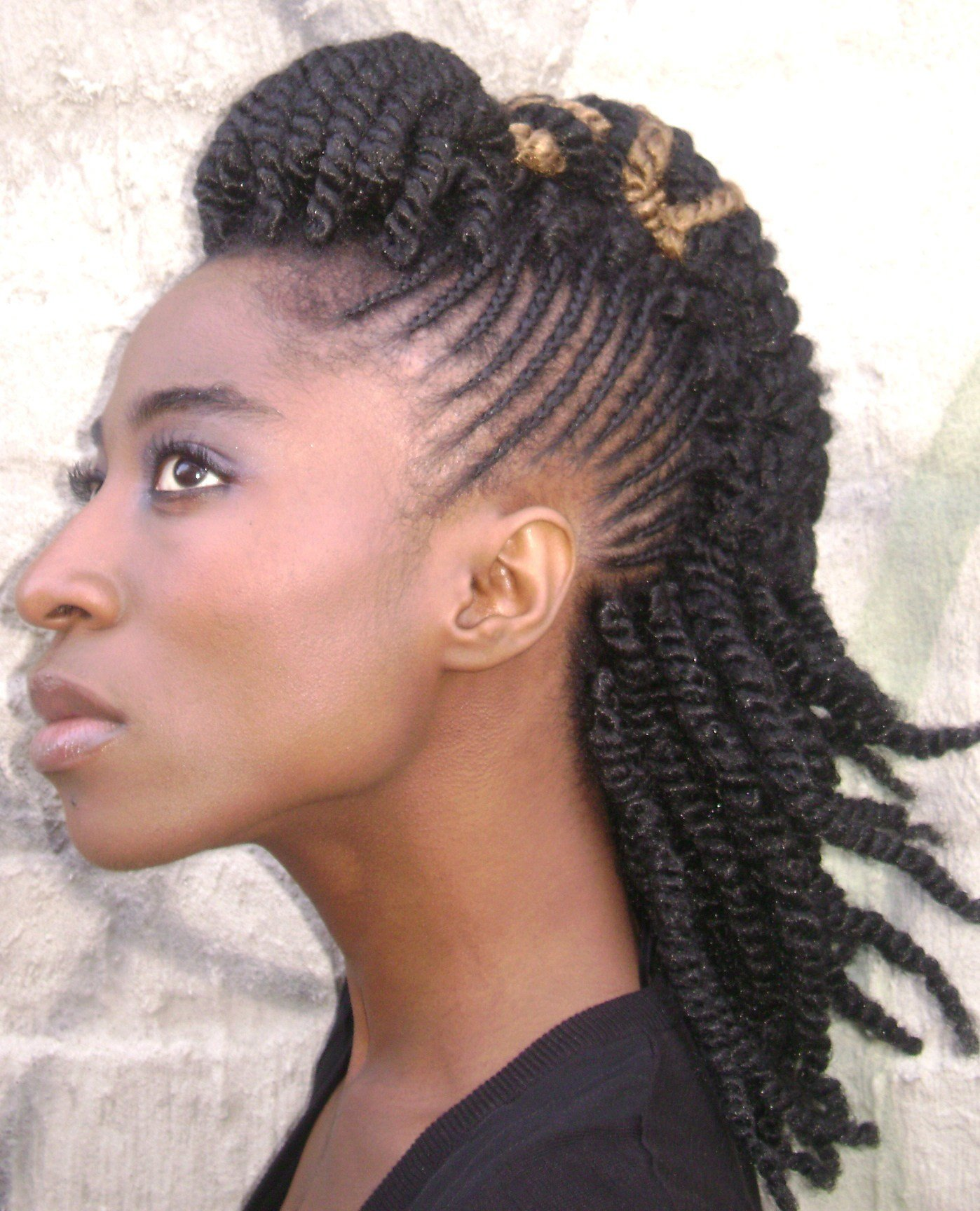 The Best Natural Hair Braid Styles Bakuland Women Man Fashion Pictures