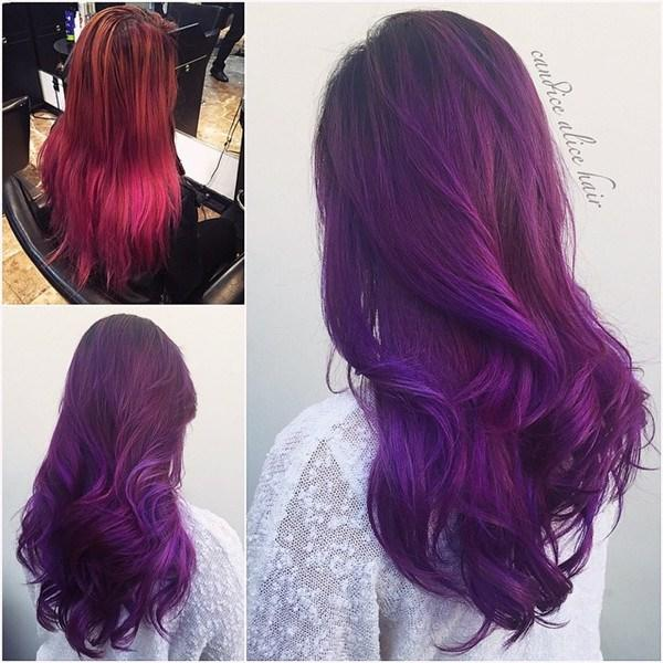 The Best 20 Hot Hair Color Styles The Latest Hair Dye Choice From Hairstylists Vpfashion Pictures