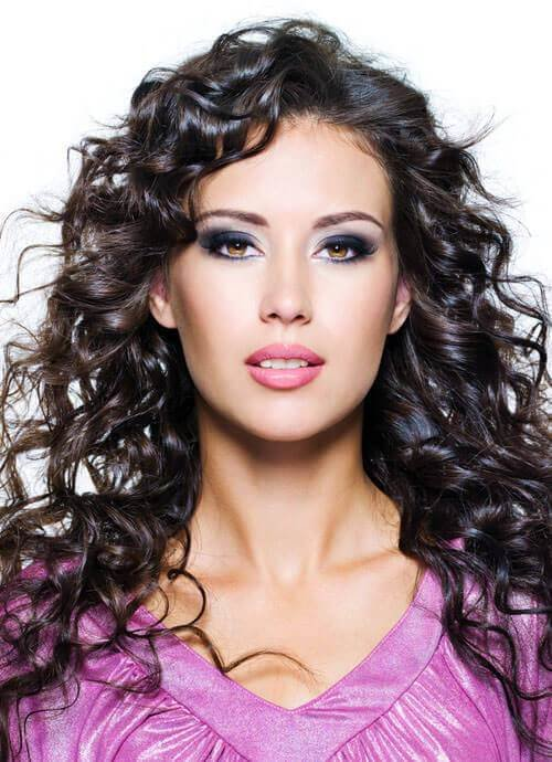 The Best 25 Cutest Hairstyles For Long Curly Hair In 2018 Pictures