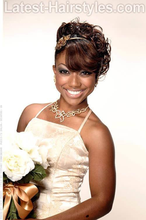 The Best 11 African American Wedding Hairstyles For The Bride Her Pictures