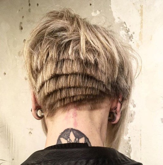 The Best 34 Most Edgy Hairstyles Trending In 2018 Pictures