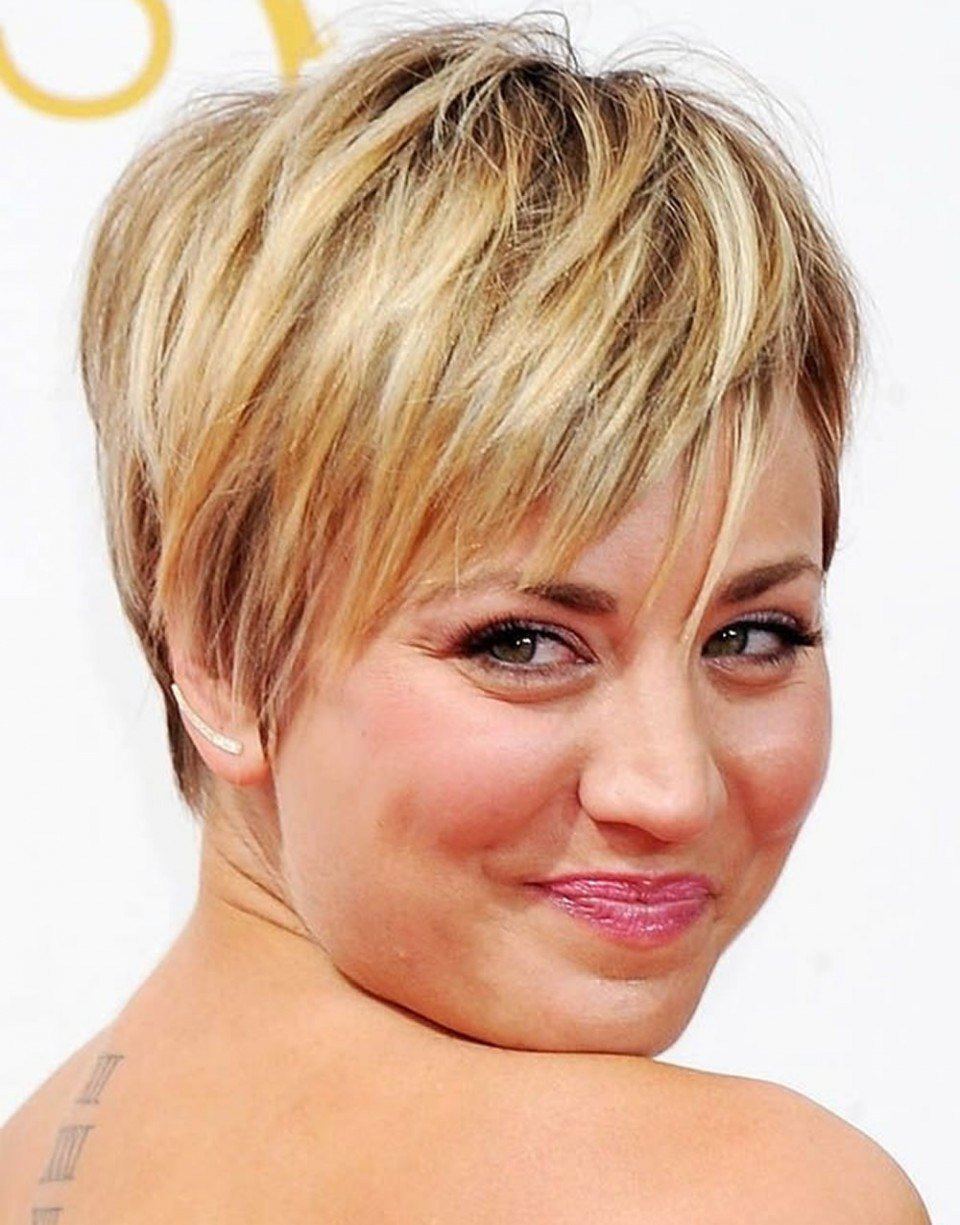 The Best Round Face Medium Haircuts 2018 Pixie Hairstyles Fine Hair Pictures