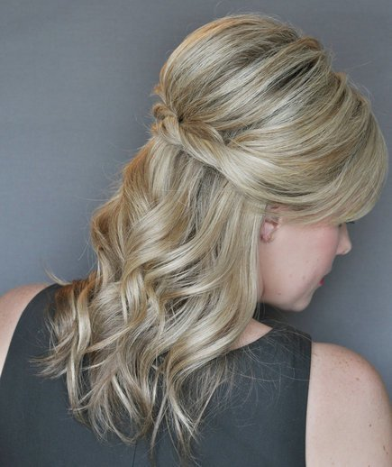 The Best How To Do A Half Up Twist Hairstyle Real Simple Pictures