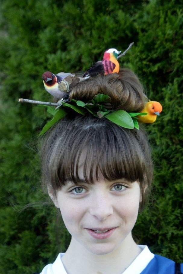 The Best Great Crazy Hairstyles For Wacky Hair Day At School Pictures