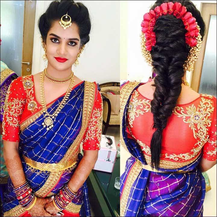 The Best Perfect South Indian Bridal Hairstyles For Receptions Pictures