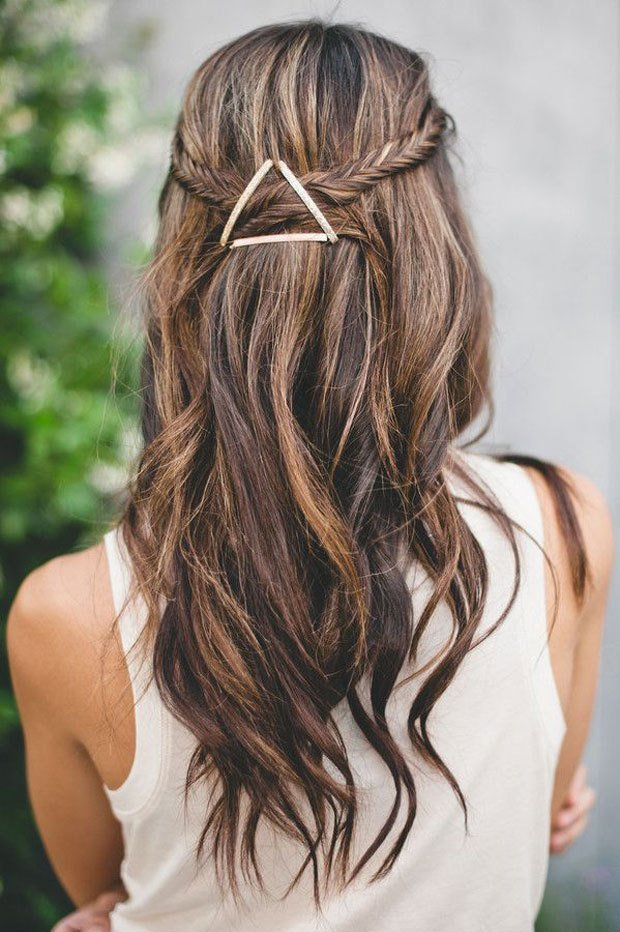 The Best Easy Bobby Pin Hairstyle The Fashion Spot Pictures
