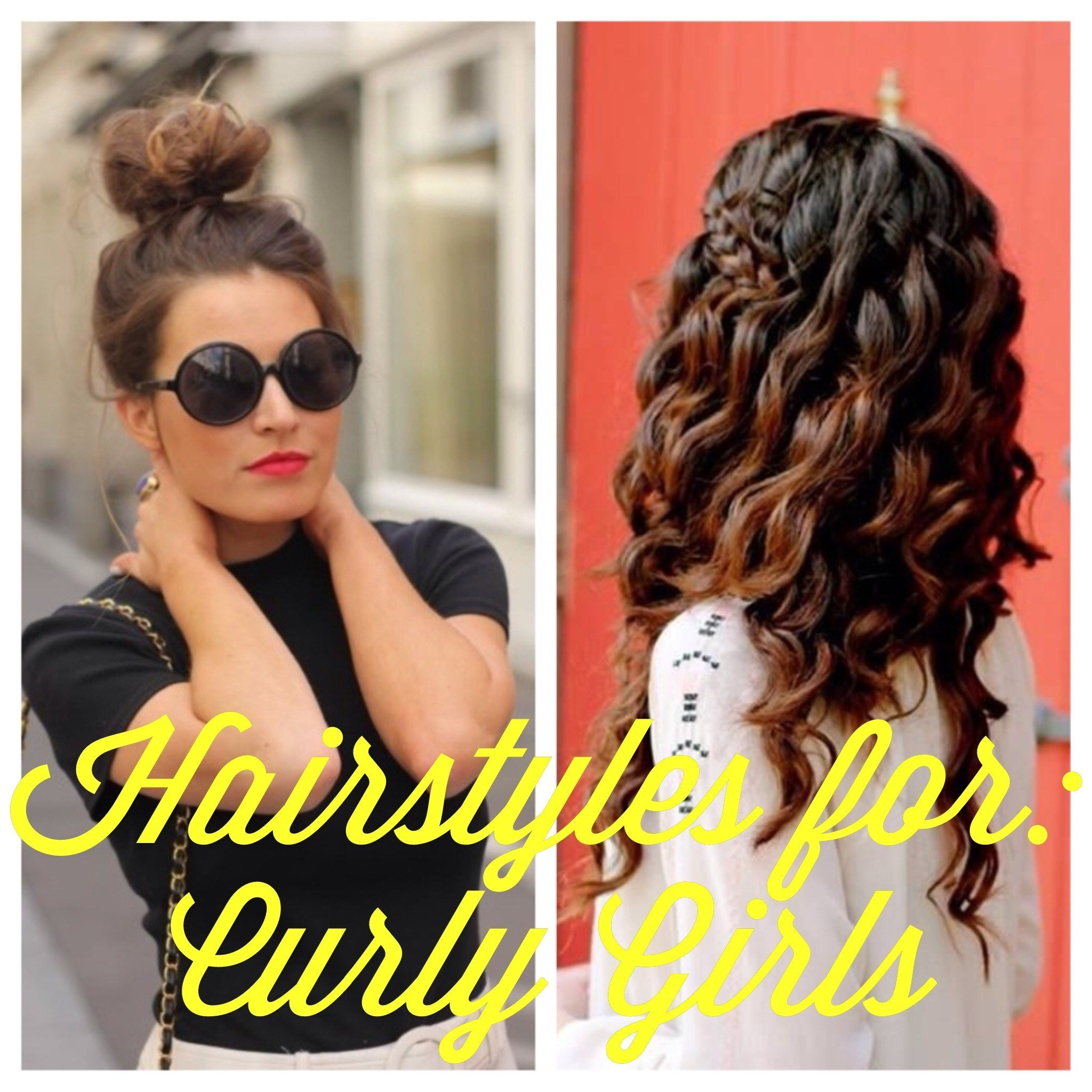 The Best Blogust Day 28 Hairstyles For Curly Girls Classy Girl Pictures