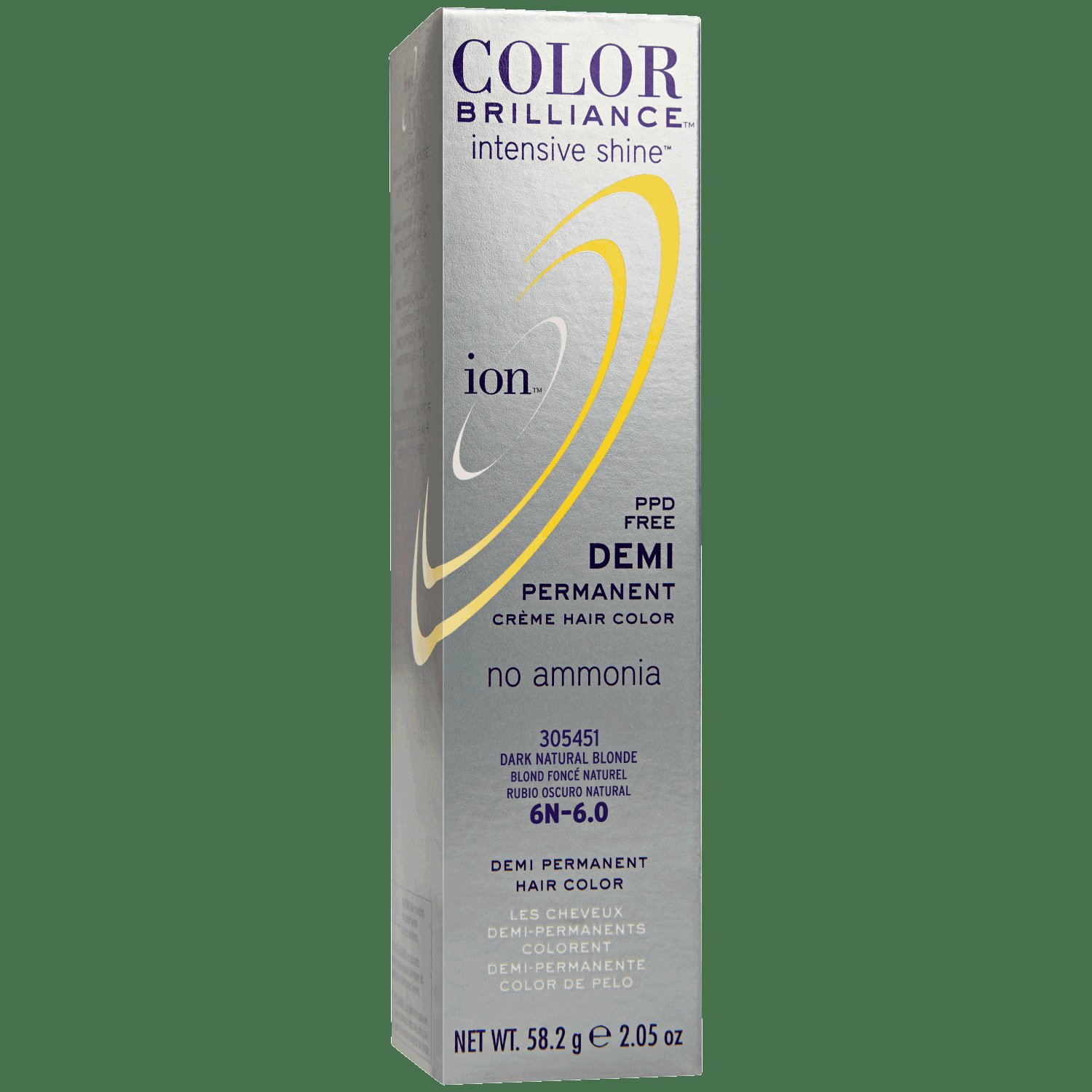 The Best Ion Color Brilliance Intensive Shine 6N Dark Natural Blonde Demi Permanent Creme Hair Color Pictures