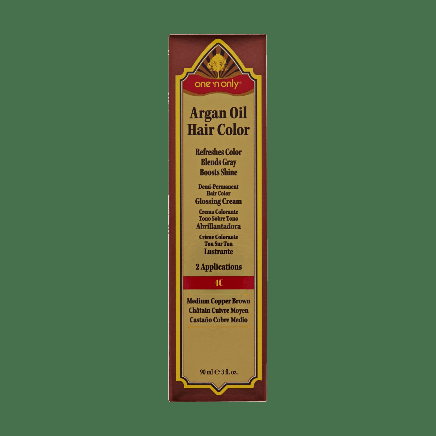 The Best One 'N Only Argan Oil Hair Color Demi Permanent Glossing Cream Pictures