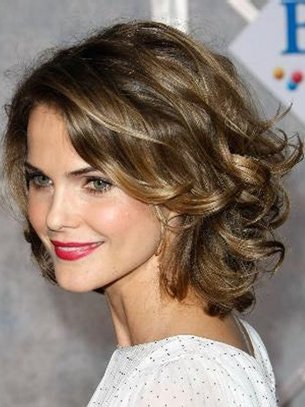 The Best Best Short Curly Hairstyles For Round Faces Easy Women Pictures