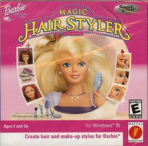 The Best Computer Games Barbie Magic Hair Styler Cd Rom Jc Pictures