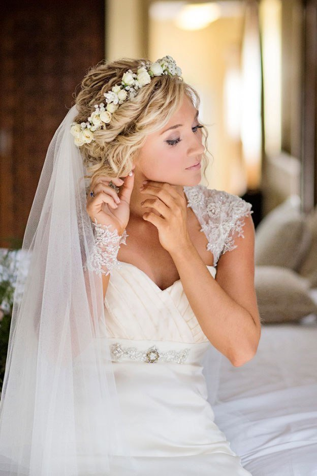 The Best Hippie Wedding Hairstyles Elle Hairstyles Pictures
