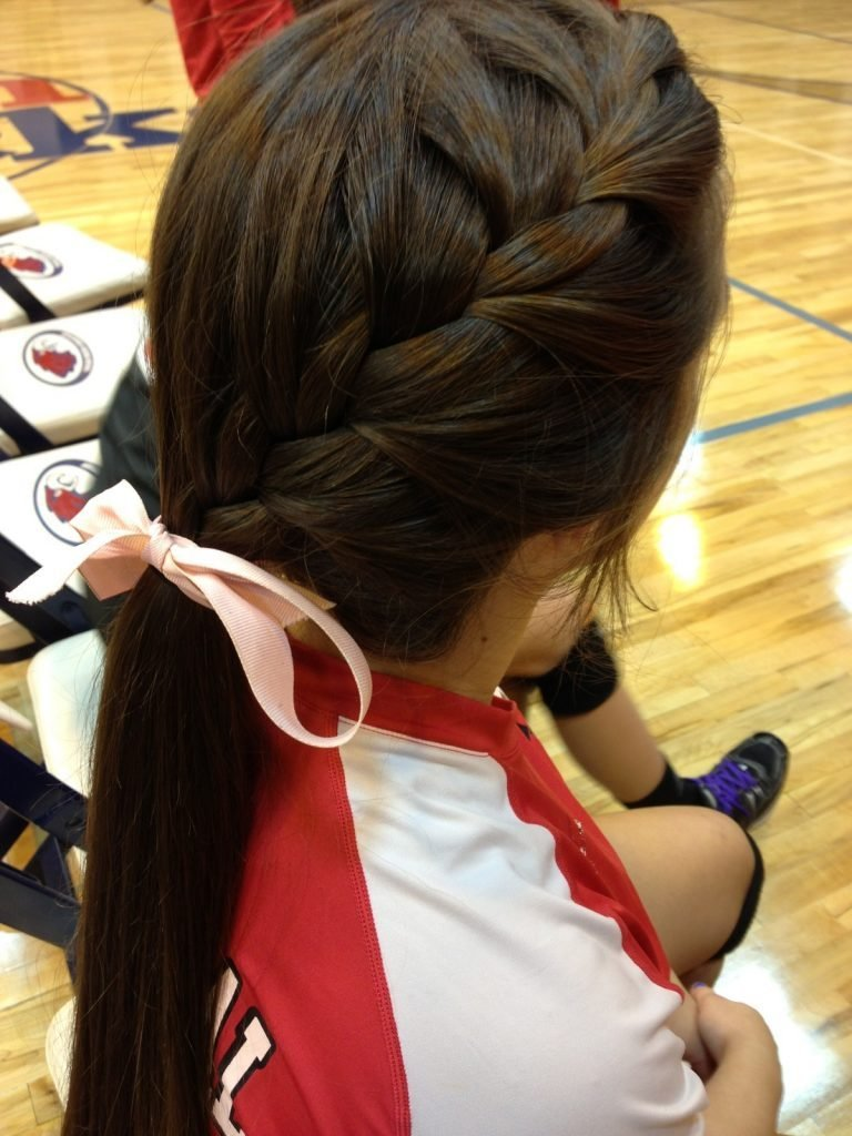 The Best Easy School Hairstyle For Sports Elle Hairstyles Pictures