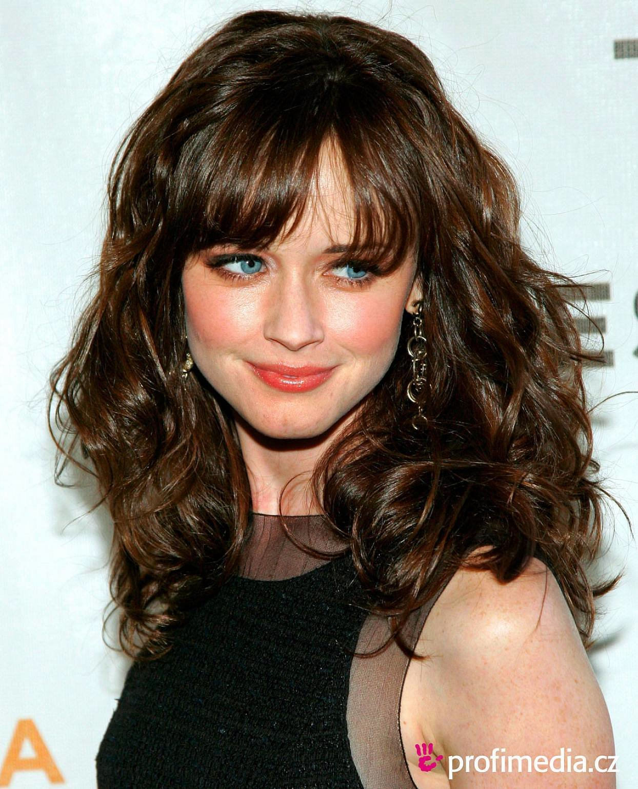 The Best 30 Cute Styles Featuring Curly Hair With Bangs Fave Hairstyles Pictures