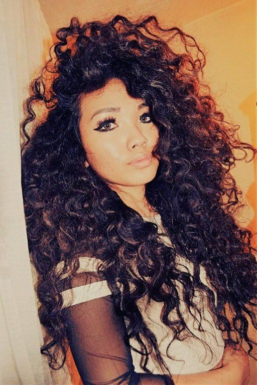 The Best Curly Hairstyles For School Fave Hairstyles Pictures