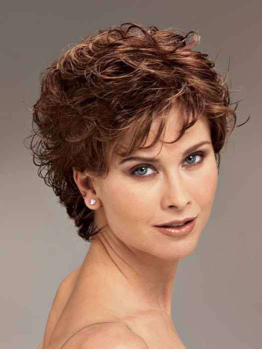 The Best Short Curly Hairstyles For Women Over 50 Fave Hairstyles Pictures