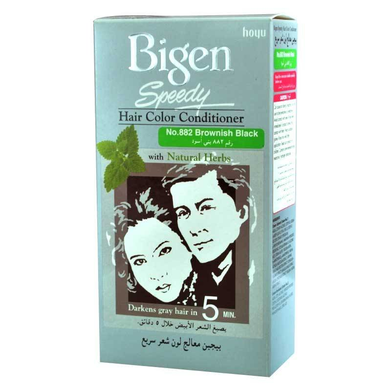 The Best Bigen Speedy Brownish Black No 882 Hair Color Dye Pictures