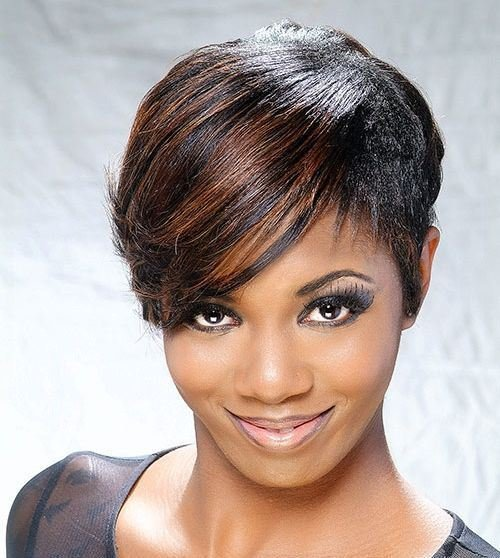 The Best 20 Most Charming African American Short Hairstyles Pictures