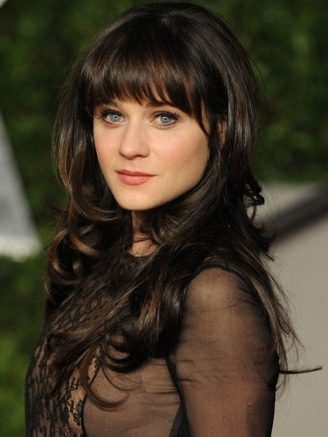 The Best Celebrity Hairstyles Zooey Deschanel Younger Hairstyle Pictures