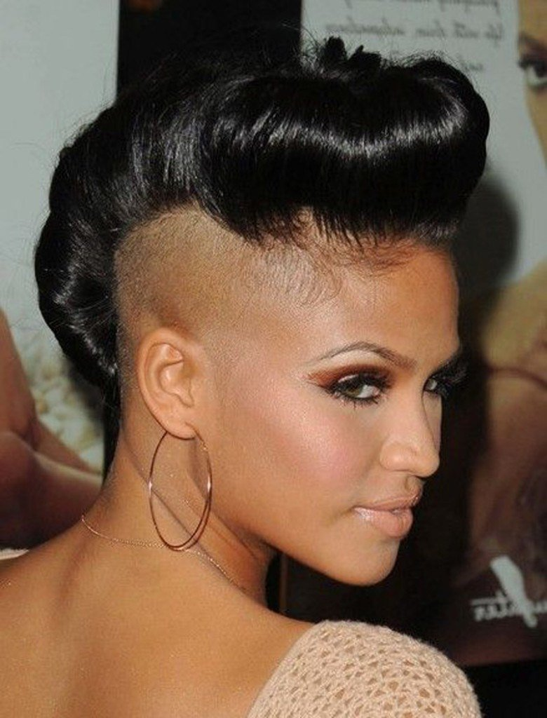 The Best Top 15 Most Badass Shaved Hairstyles For Black Women 2018 Pictures