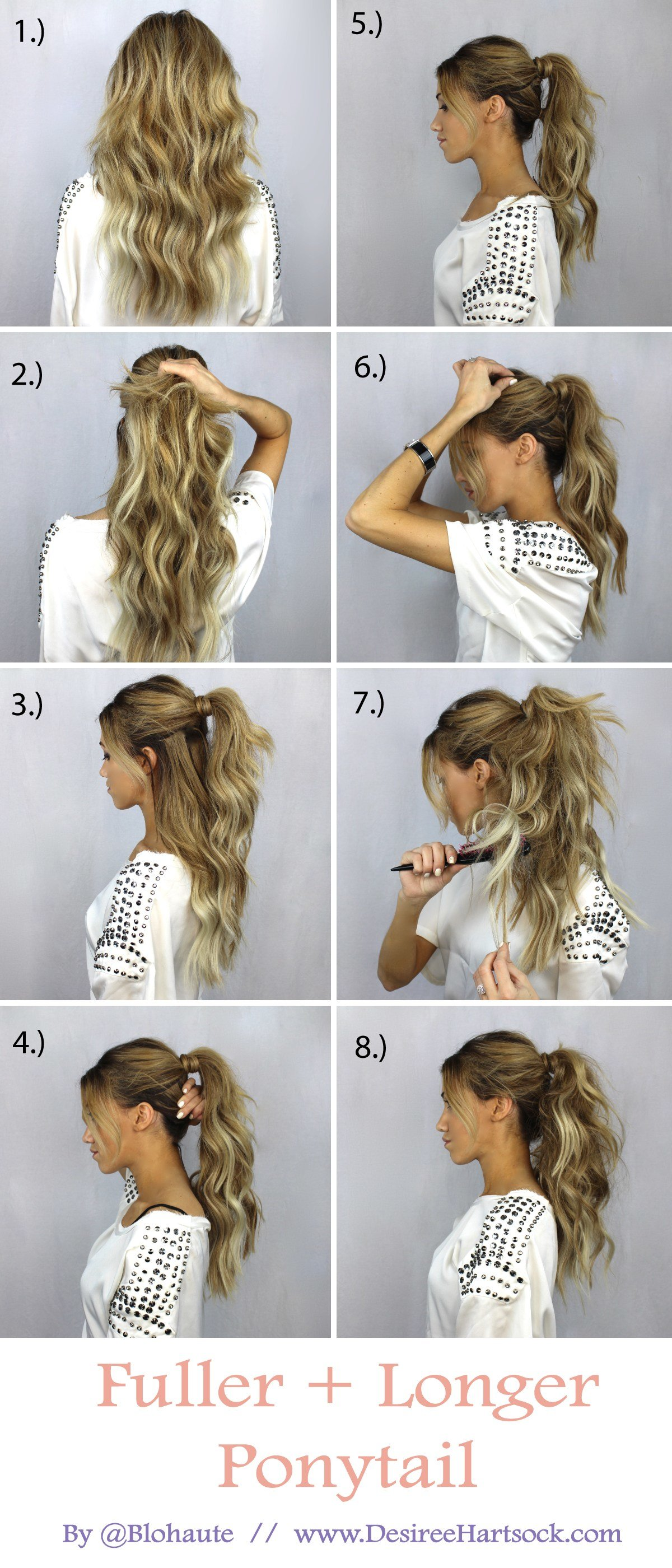 The Best Create A Fuller And Longer Ponytail In These Easy Steps Pictures