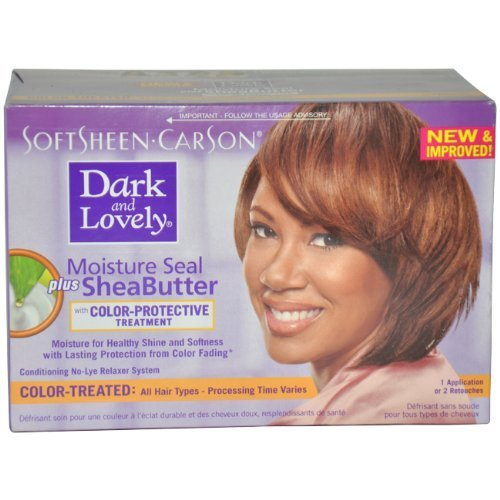 The Best Moisture Seal Plus Shea Butter No Lye Relaxer Kit Color Pictures