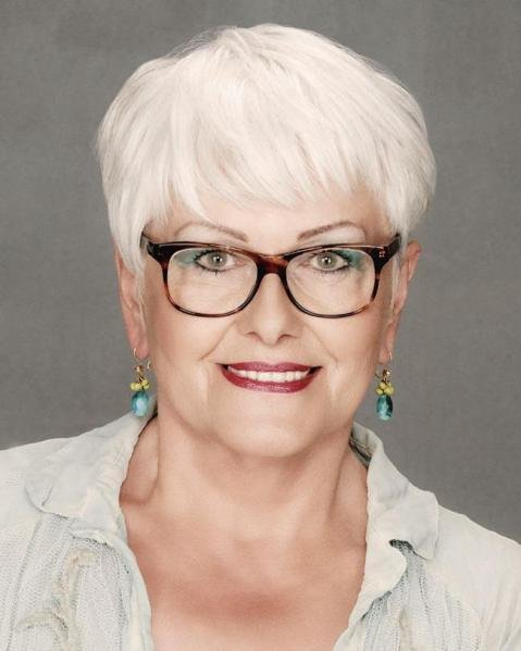 The Best Short Hairstyles For Women Over 60 With Glasses Latest Pictures