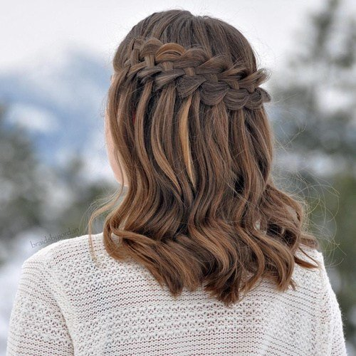 The Best 20 Flowing Waterfall Braid Styles Pictures