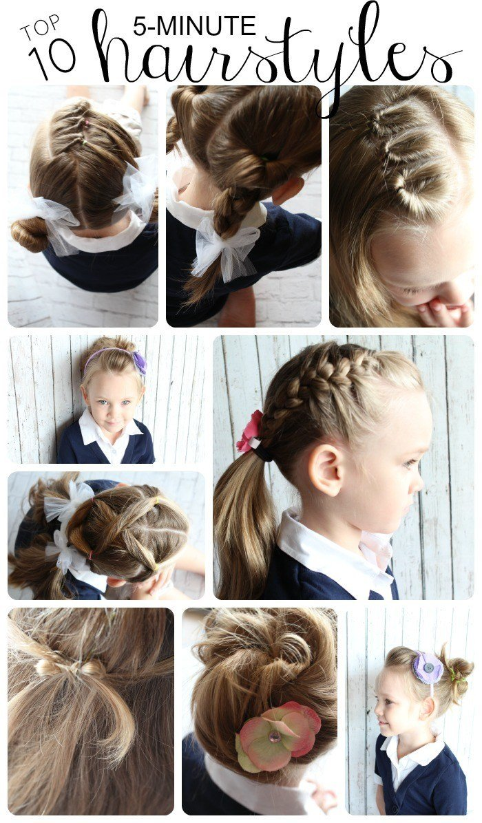 The Best 10 Easy Hairstyles For Girls Somewhat Simple Pictures