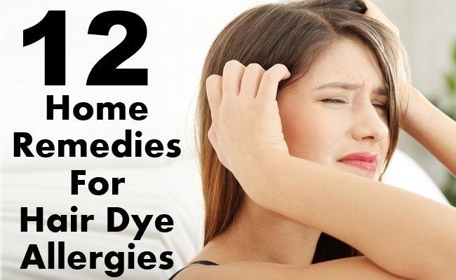 The Best 10 Amazing Home Remedies For Hair Dye Allergies Top Diy Pictures