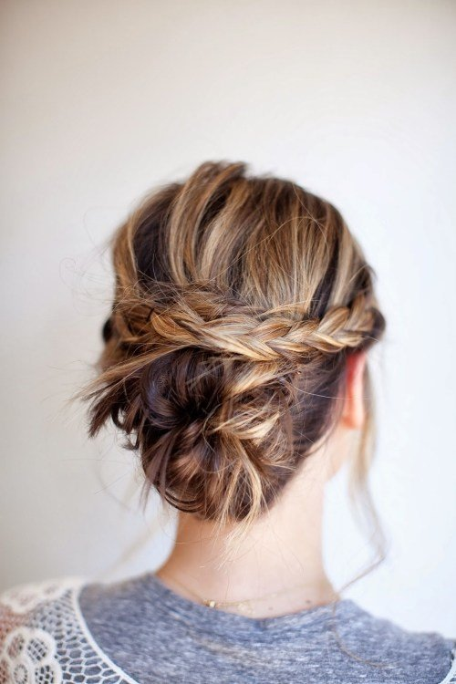 The Best 80 Easy Updo Hairstyles For Medium Length Hair Pictures