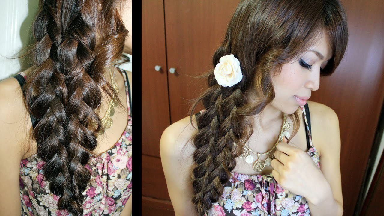 The Best Mermaid Tail Braid Hairstyle Hair Tutorial Youtube Pictures